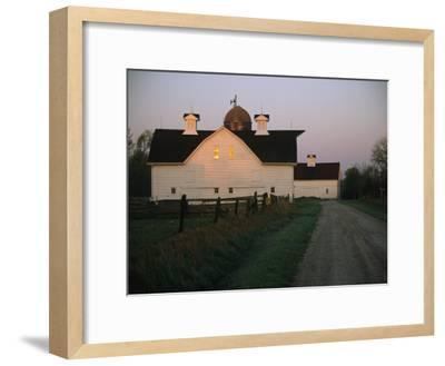 Historic Stevens Creek Farm Near Lincoln, Nebraska-Joel Sartore-Framed Photographic Print
