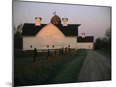Historic Stevens Creek Farm Near Lincoln, Nebraska-Joel Sartore-Mounted Photographic Print