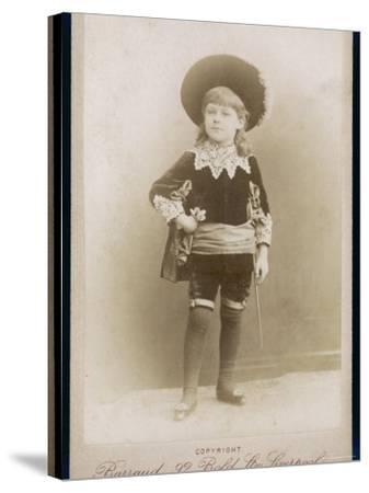 Boy in a Cavalier Costume (A Style--Stretched Canvas Print