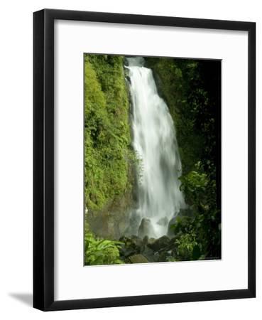 Trafalgar Falls Flowing onto the Rocks Below-Todd Gipstein-Framed Photographic Print