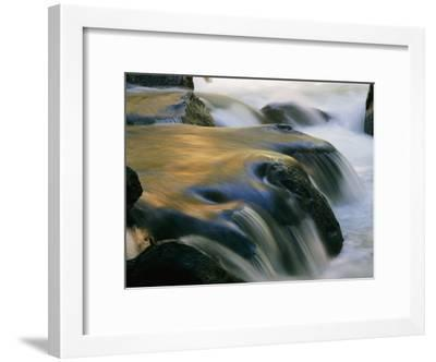 Waterfall in Yosemite National Park-Marc Moritsch-Framed Photographic Print