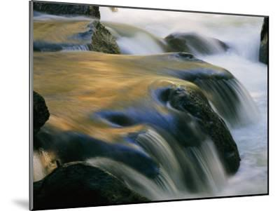 Waterfall in Yosemite National Park-Marc Moritsch-Mounted Photographic Print