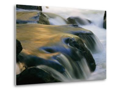 Waterfall in Yosemite National Park-Marc Moritsch-Metal Print