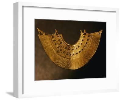 An Earring from Colombias Sinu Culture--Framed Photographic Print