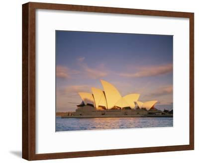 View of the Sydney Opera House-Richard Nowitz-Framed Photographic Print