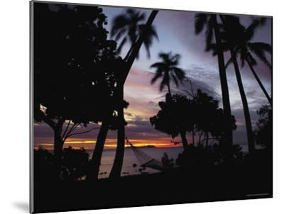Sunset View over Marlin Bay-James L^ Stanfield-Mounted Photographic Print