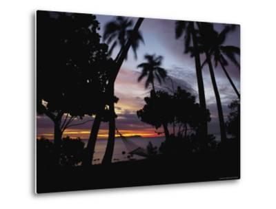 Sunset View over Marlin Bay-James L^ Stanfield-Metal Print