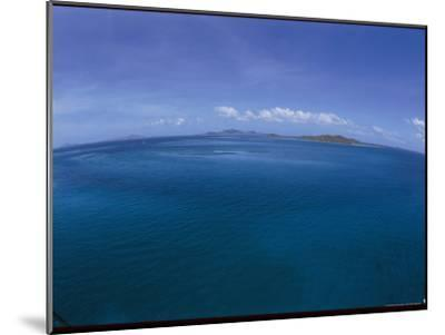 The Turquoise Ocean Photographed from the Mast of a Boat-Todd Gipstein-Mounted Photographic Print