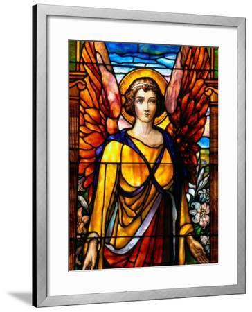 Stained Glass by George Spence, Jonesport, ME-Dan Gair-Framed Photographic Print