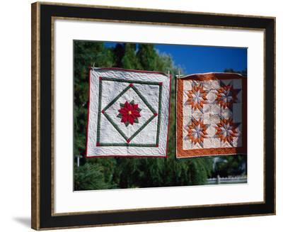 Amish Quilts, Lancaster, PA-Phyllis Picardi-Framed Photographic Print