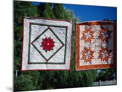 Amish Quilts, Lancaster, PA-Phyllis Picardi-Mounted Photographic Print