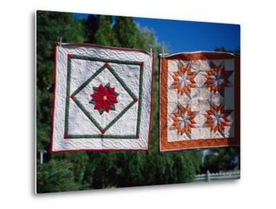 Amish Quilts, Lancaster, PA-Phyllis Picardi-Metal Print
