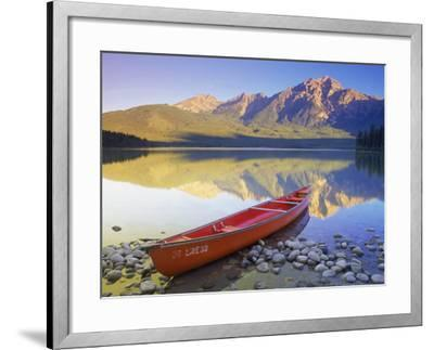 Canoe on Pyramid Lake-Kevin Law-Framed Photographic Print
