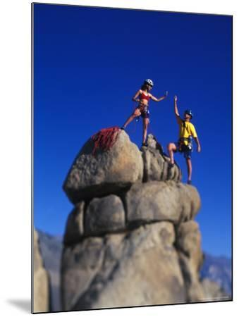 Rock Climbers-Greg Epperson-Mounted Photographic Print