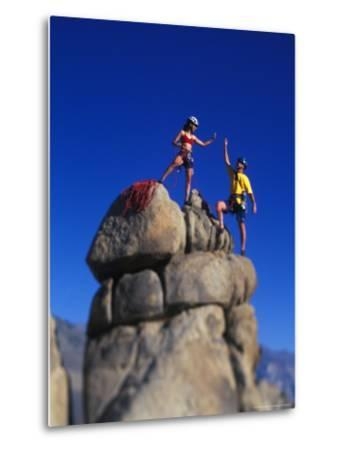 Rock Climbers-Greg Epperson-Metal Print