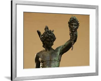 Statue of Florence, Italy-Keith Levit-Framed Photographic Print