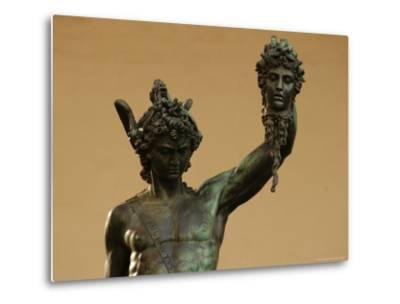 Statue of Florence, Italy-Keith Levit-Metal Print