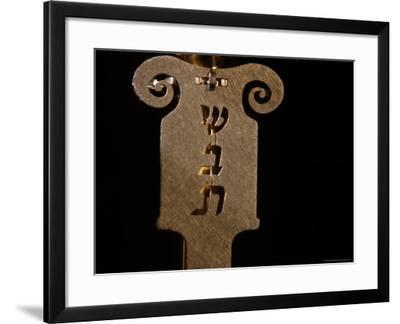 Jewish Symbols-Keith Levit-Framed Photographic Print