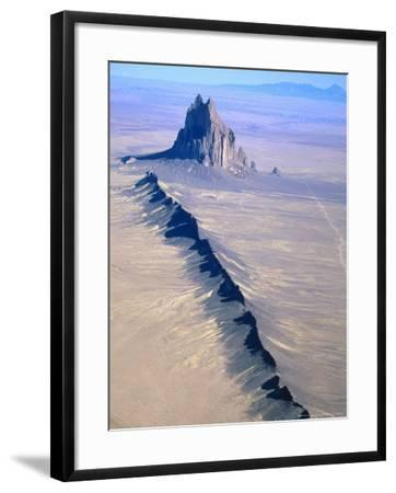Shiprock, Northwest New Mexico-Amy And Chuck Wiley/wales-Framed Photographic Print