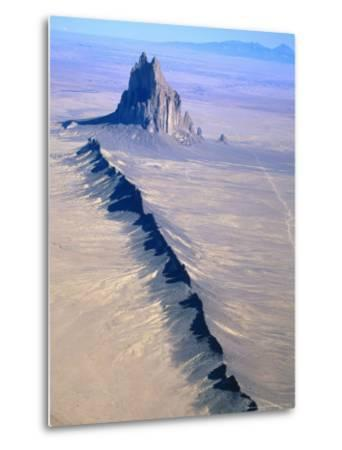 Shiprock, Northwest New Mexico-Amy And Chuck Wiley/wales-Metal Print