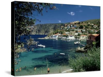 Asos, Greece-David Cayless-Stretched Canvas Print