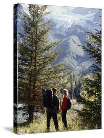 Portage Lake, Alaska, USA--Stretched Canvas Print