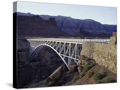 Navajo Bridge Grand Canyon National Park, Arizona, USA--Stretched Canvas Print