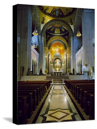 Basilica of the National Shrine of the Immaculate Conception Washington, D.C. USA--Stretched Canvas Print