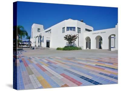 Oceanside Civic Center, San Diego, California, USA--Stretched Canvas Print