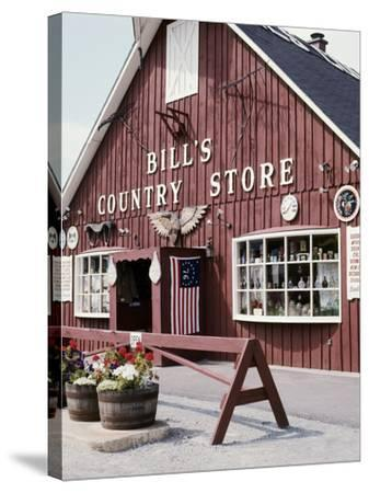 Country Store, Vermont, USA--Stretched Canvas Print
