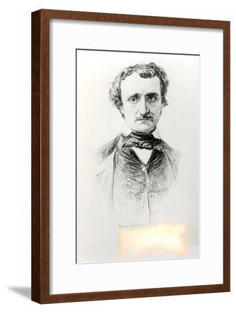 Edgar Allan Poe-Ismael Gentz-Framed Giclee Print