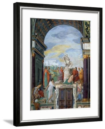 Lorenzo De' Medici-Giovanni Mannozzi-Framed Giclee Print