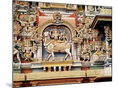 Relief Depicting Shiva and Parvati Riding on Nandi--Mounted Giclee Print