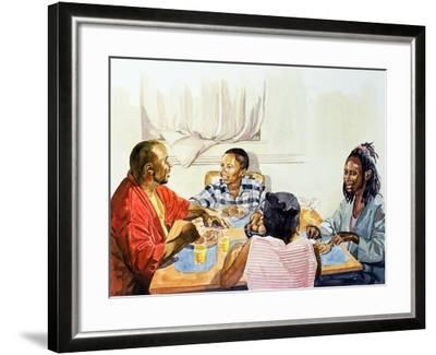 Weekend Breakfast, 2003-Colin Bootman-Framed Giclee Print