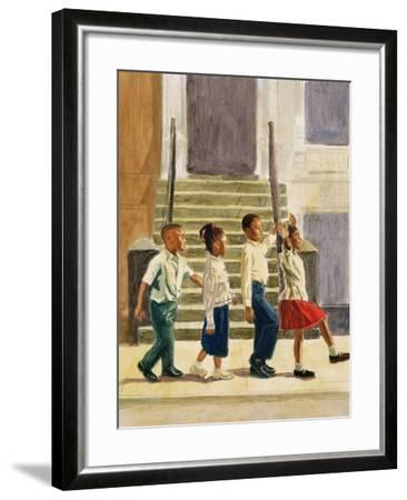 Follow Me, 1995-Colin Bootman-Framed Giclee Print