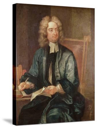 Portrait of Jonathan Swift-Charles Jervas-Stretched Canvas Print