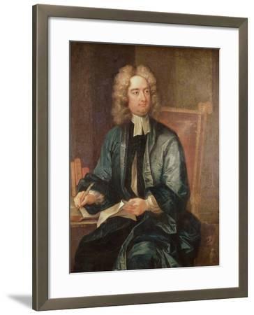 Portrait of Jonathan Swift-Charles Jervas-Framed Giclee Print