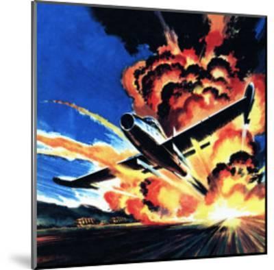 Flight Through an Inferno-Wilf Hardy-Mounted Giclee Print