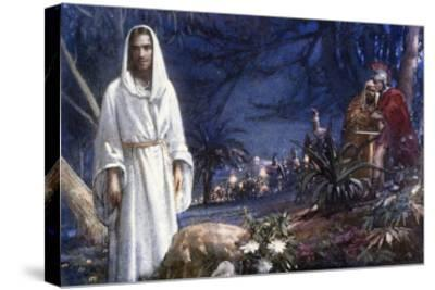 The Garden of Gethsemane-John Millar Watt-Stretched Canvas Print