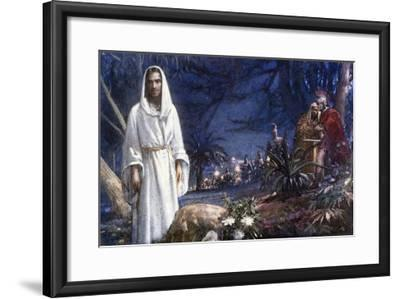 The Garden of Gethsemane-John Millar Watt-Framed Giclee Print