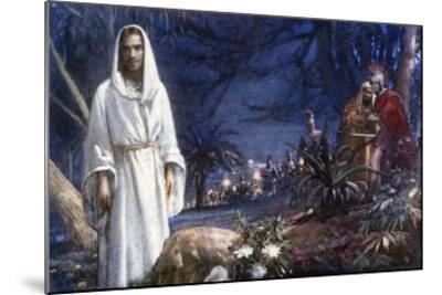 The Garden of Gethsemane-John Millar Watt-Mounted Giclee Print