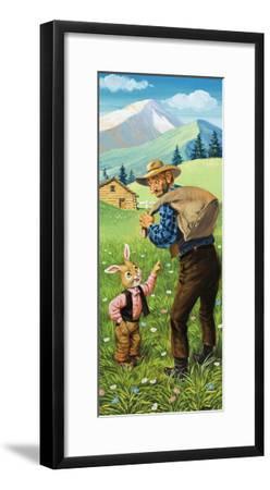 Brer Rabbit-Virginio Livraghi-Framed Giclee Print