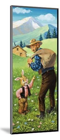 Brer Rabbit-Virginio Livraghi-Mounted Giclee Print