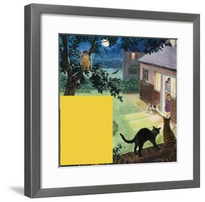 The Moon-Clive Uptton-Framed Giclee Print