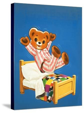 Teddy Bear-Francis Phillipps-Stretched Canvas Print