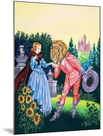 Beauty and the Beast-Ron Embleton-Mounted Giclee Print
