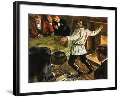 Rasputin Shot in the Back-Clive Uptton-Framed Giclee Print