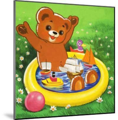 Teddy Bear-Francis Phillipps-Mounted Giclee Print