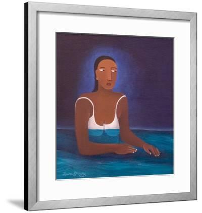 Woman in Water, 2004-Laura James-Framed Giclee Print