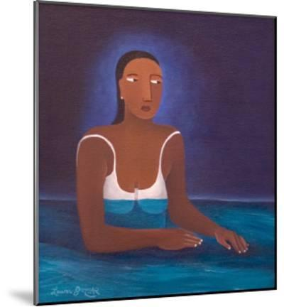 Woman in Water, 2004-Laura James-Mounted Giclee Print